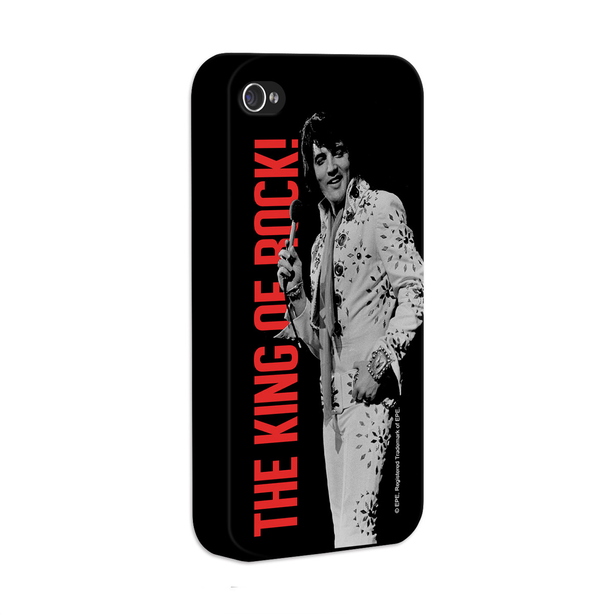 Kit Com 3 Capas de iPhone 4/4S Elvis Presley The King