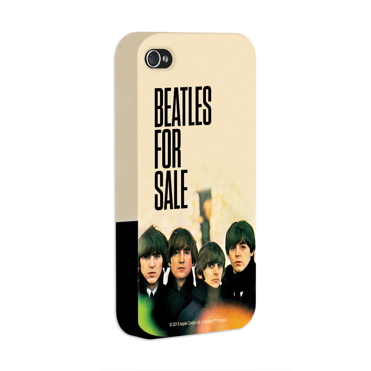Kit Com 3 Capas de iPhone 4/4S The Beatles Albums 60s 2