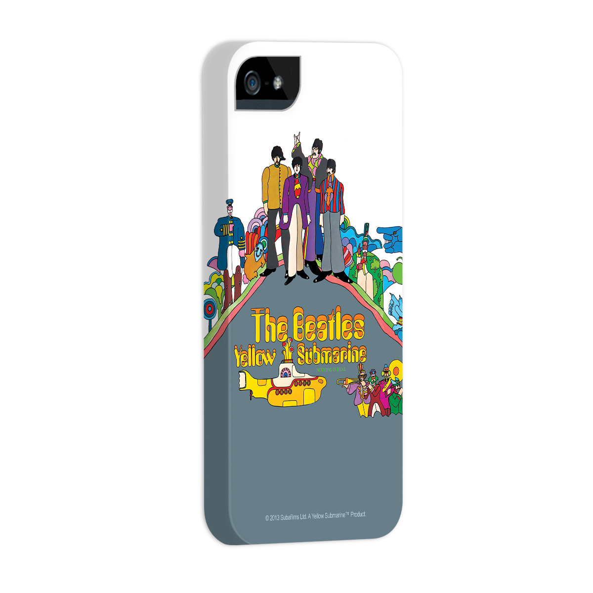 Kit Com 3 Capas de iPhone 5/5S The Beatles Yellow Submarine