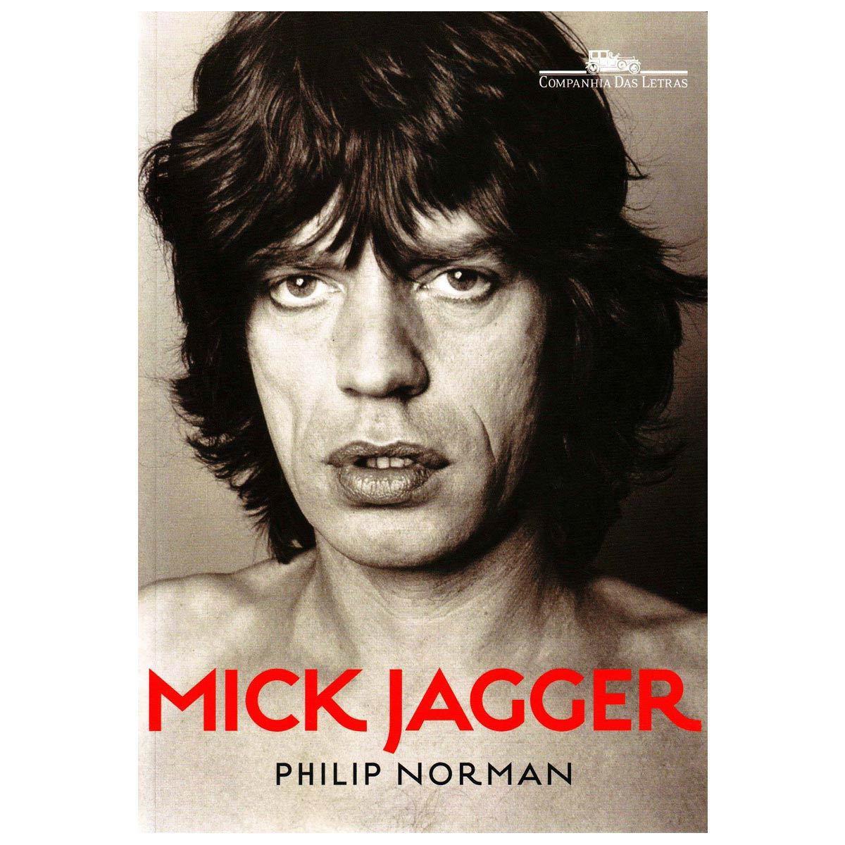 Livro Mick Jagger