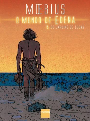 Graphic Novel Moebius - O Mundo de Edem Vol.2 Os Jardins de Edema