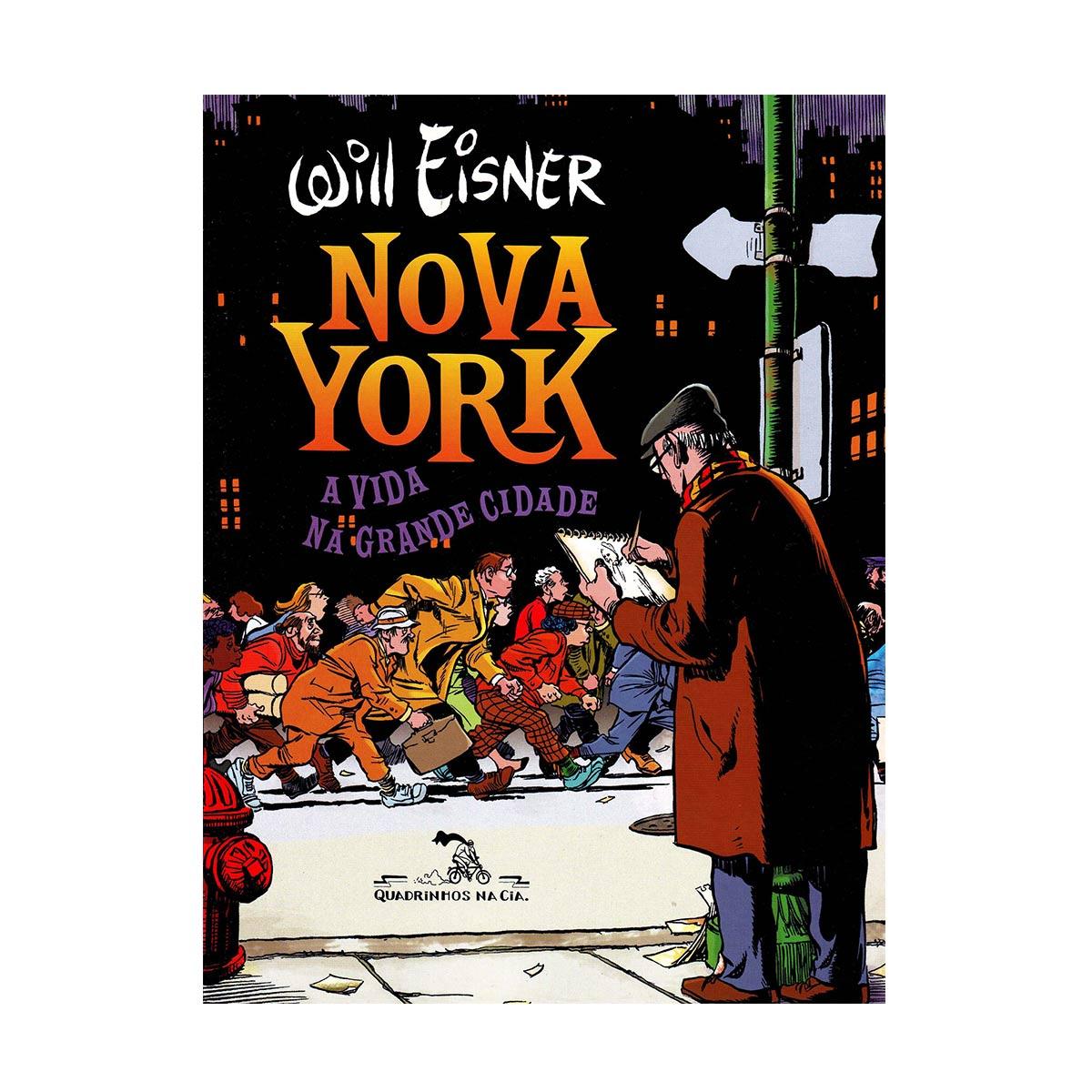 Livro Nova York - A Vida na Grande Cidade