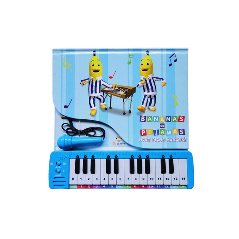 Livro Piano Bananas de Pijamas