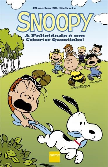HQ Snoopy A Felicidade é Um Cobertor Quentinho