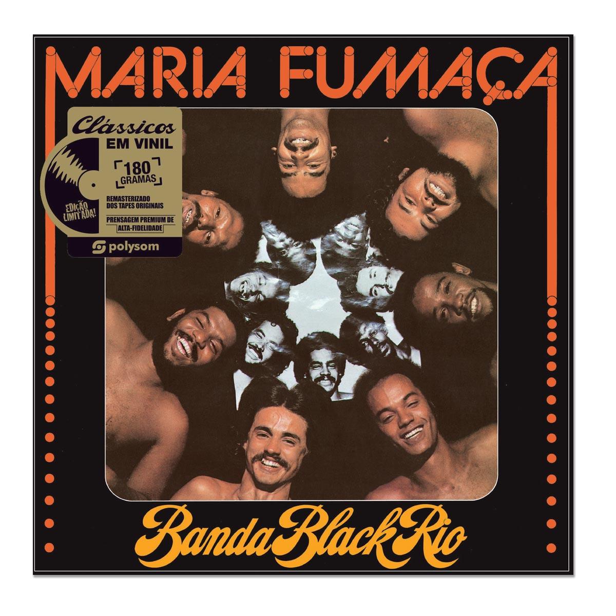 LP Banda Black Rio Maria Fumaça