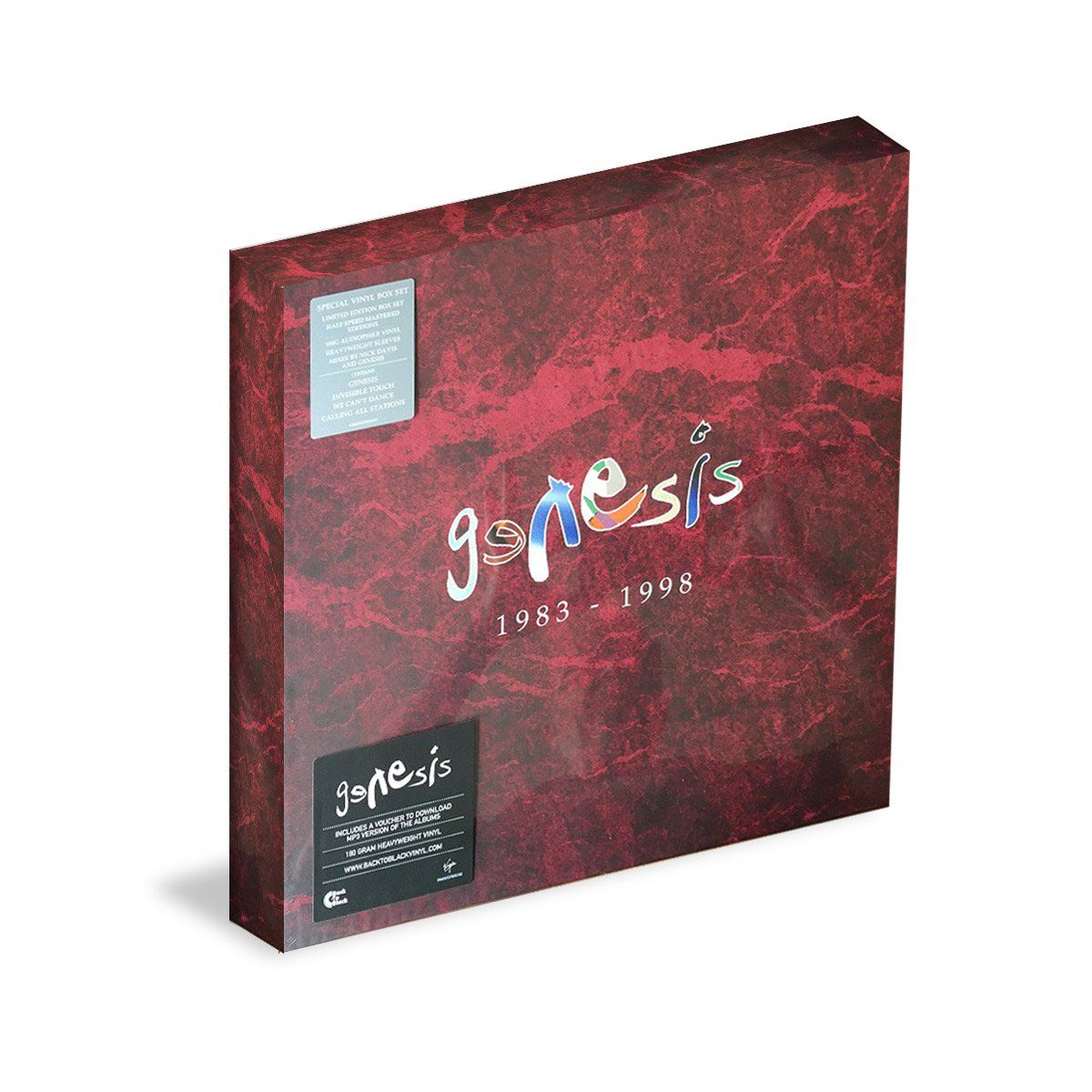 LP Box Set Genesis 1983-1998