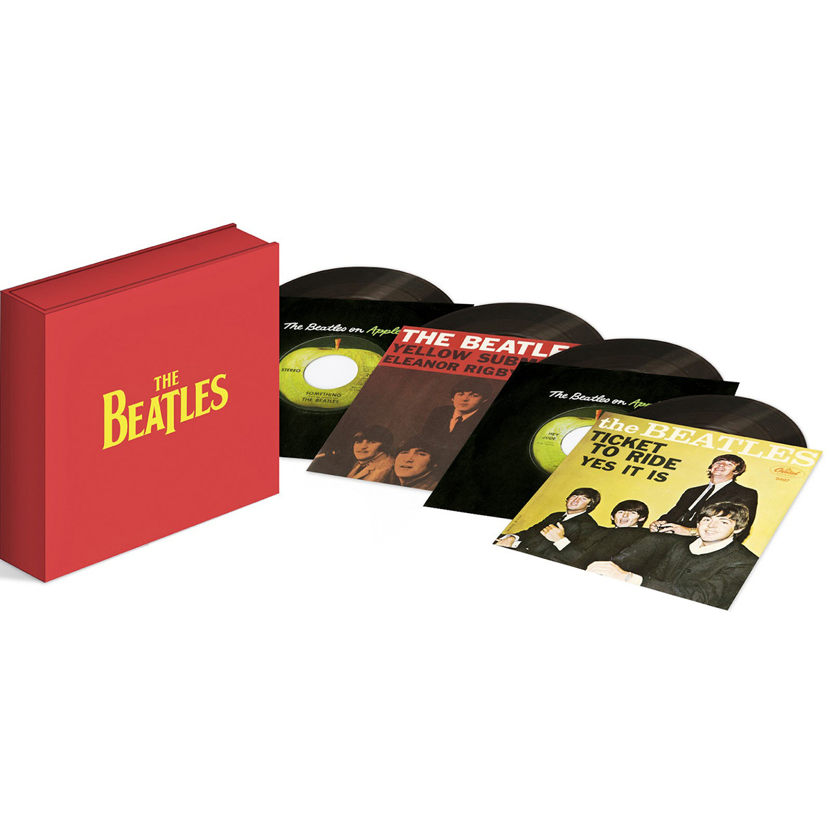 LP Box The Beatles Singles