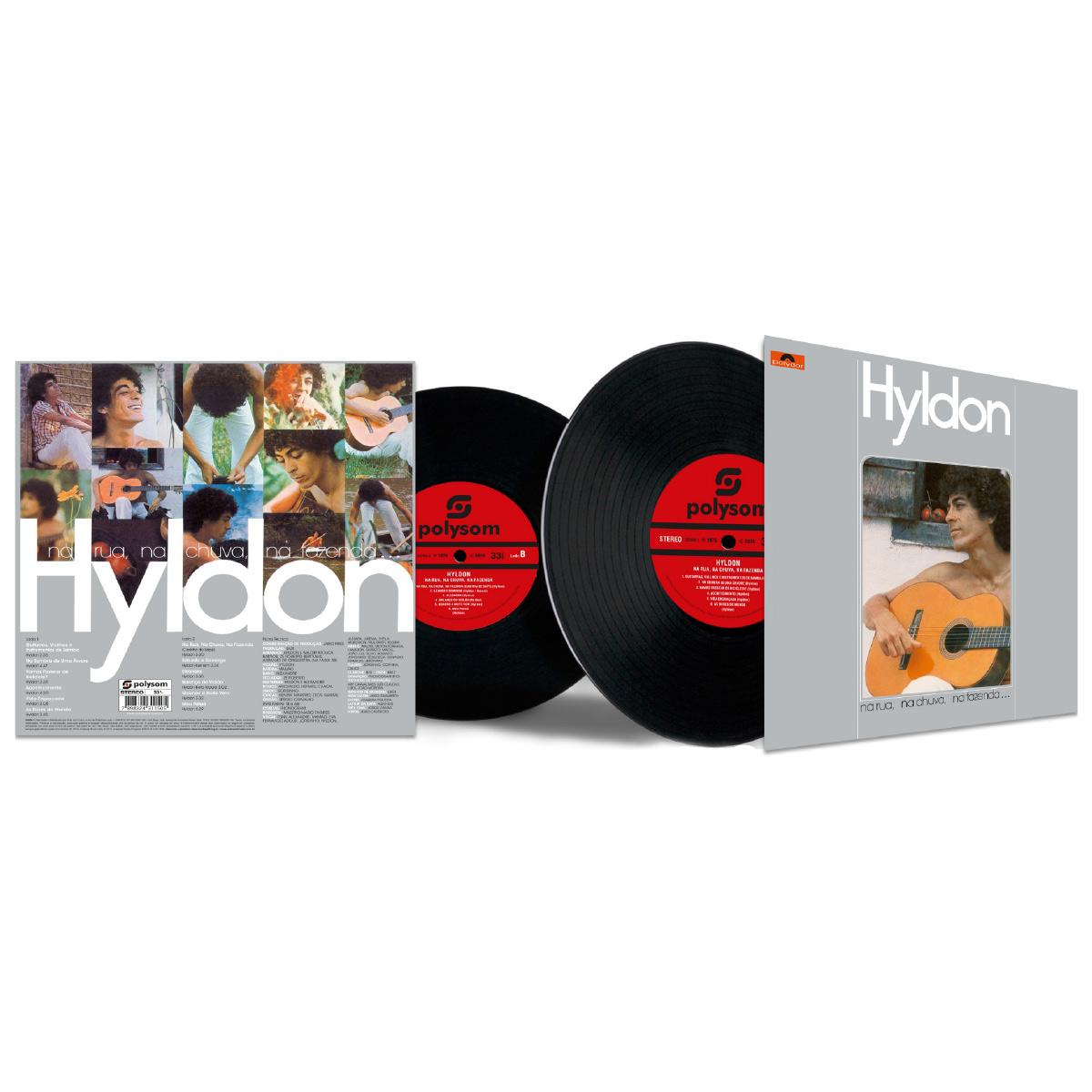LP Hyldon Na Rua, na Chuva, na Fazenda