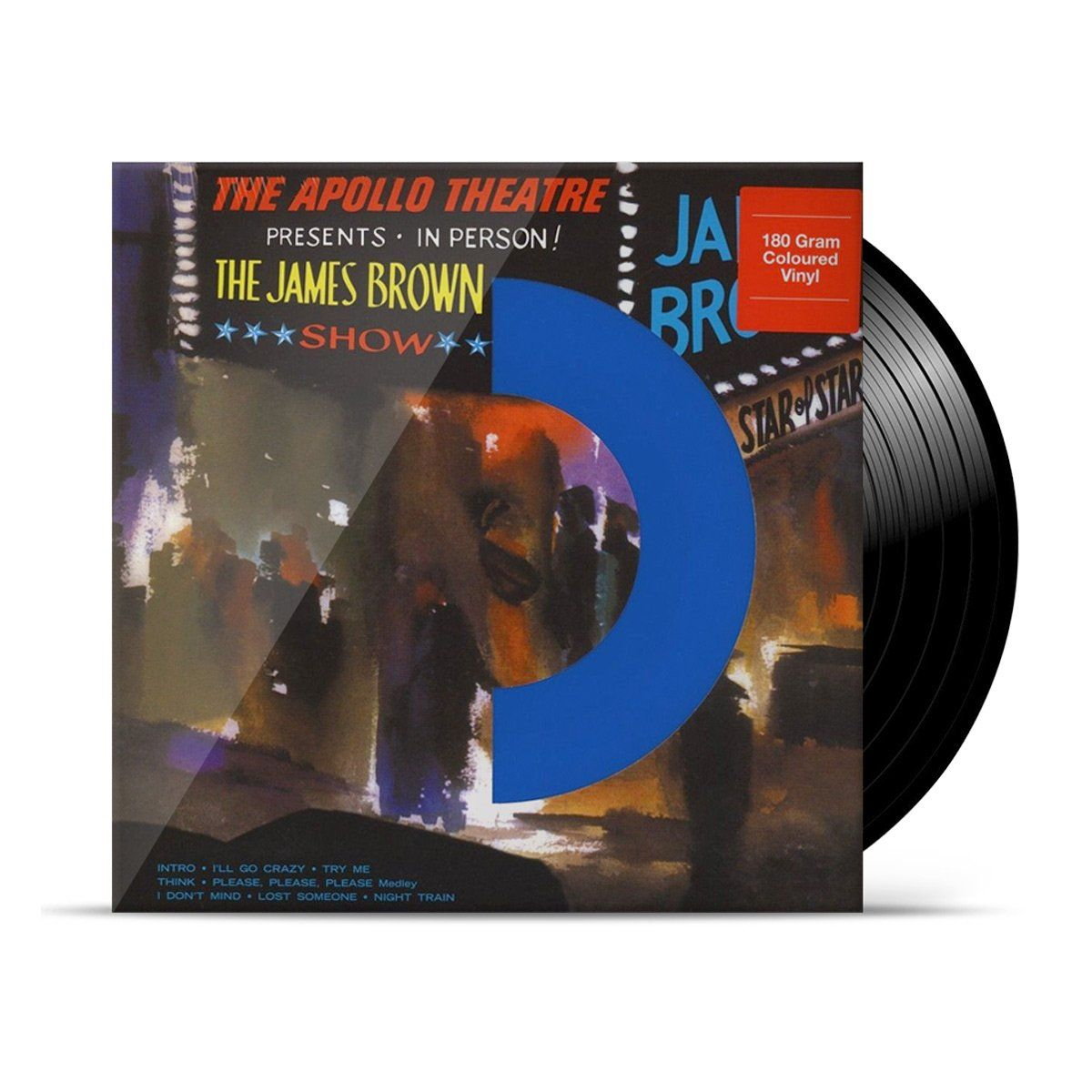 LP James Brown Live at the Apollo