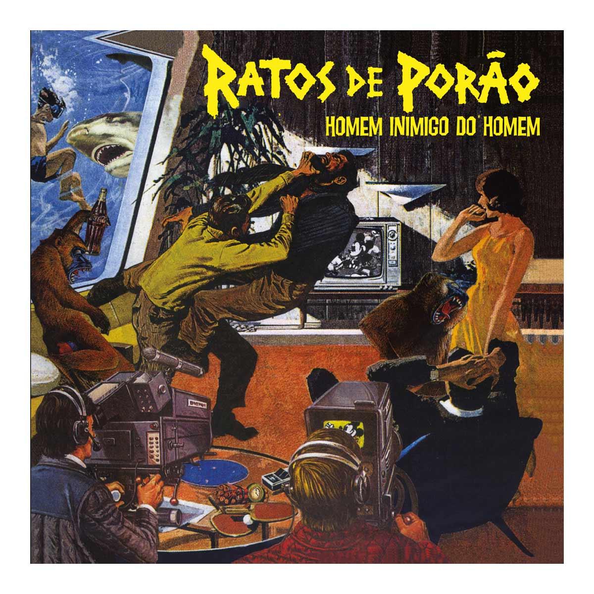 LP Ratos de Porão Homem Inimigo do Homem