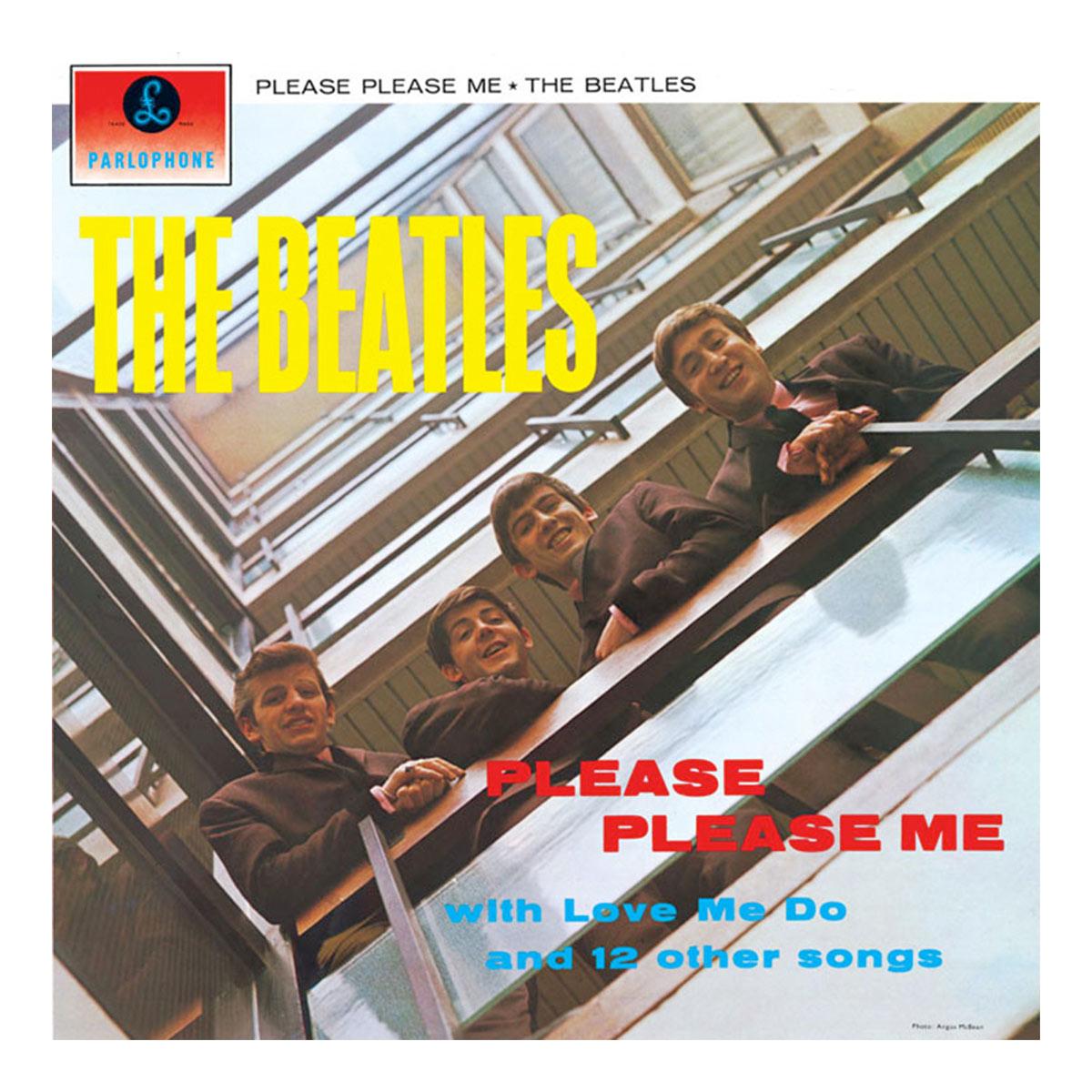LP The Beatles - Please Please Me