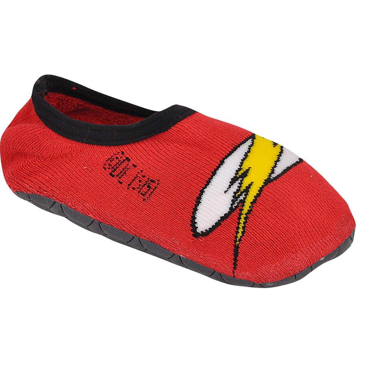 Meia Antiderrapante Infantil Cano Baixo The Flash Logo