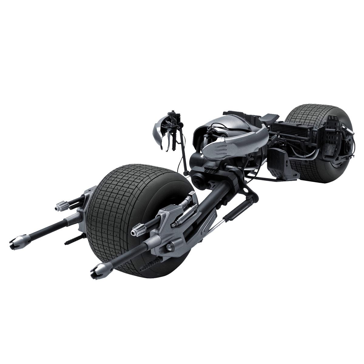 Miniatura Bat-pod The Dark Knight Hot Wheels Elite 1:18