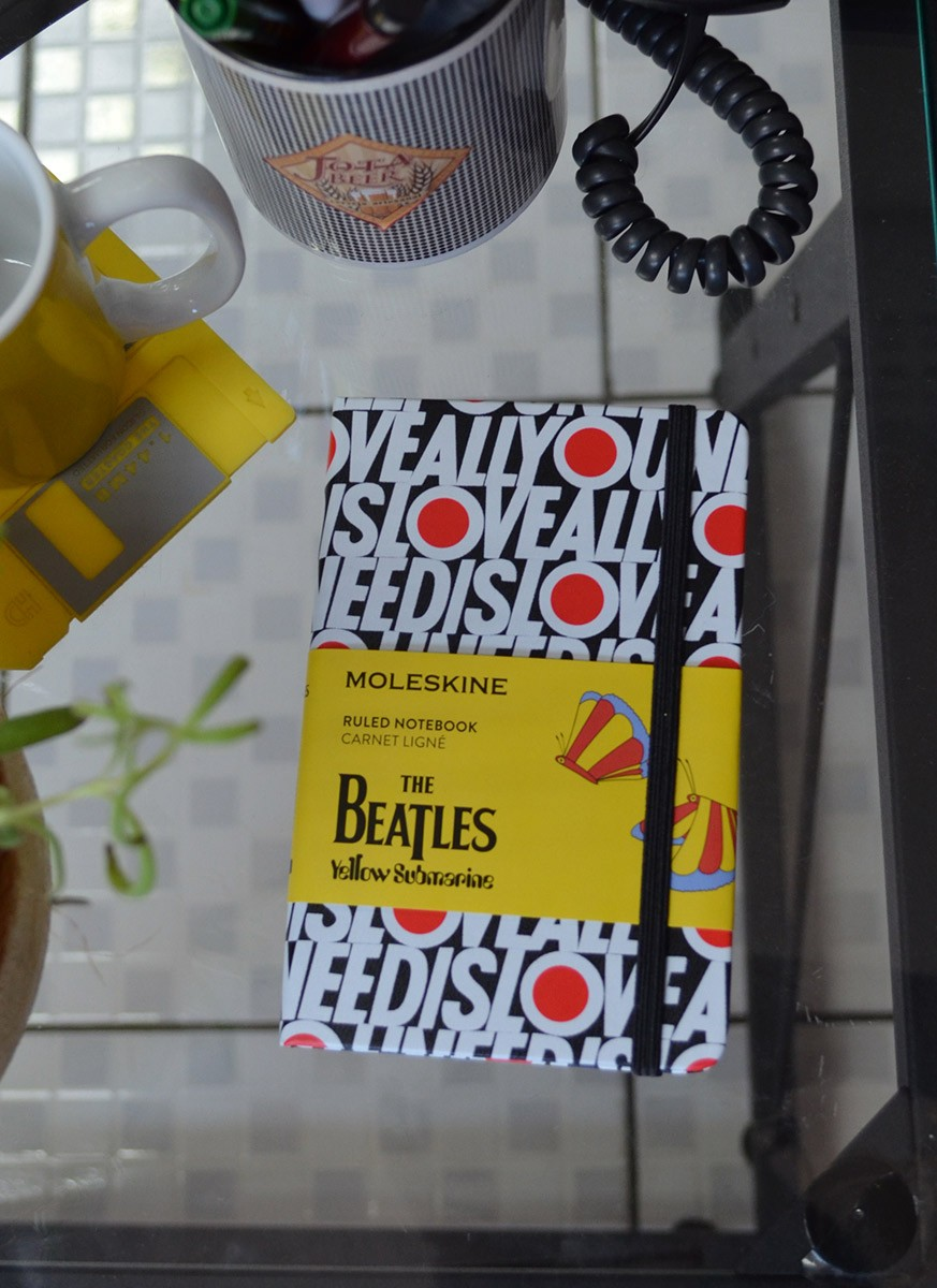 Moleskine The Beatles All You Need Is Love