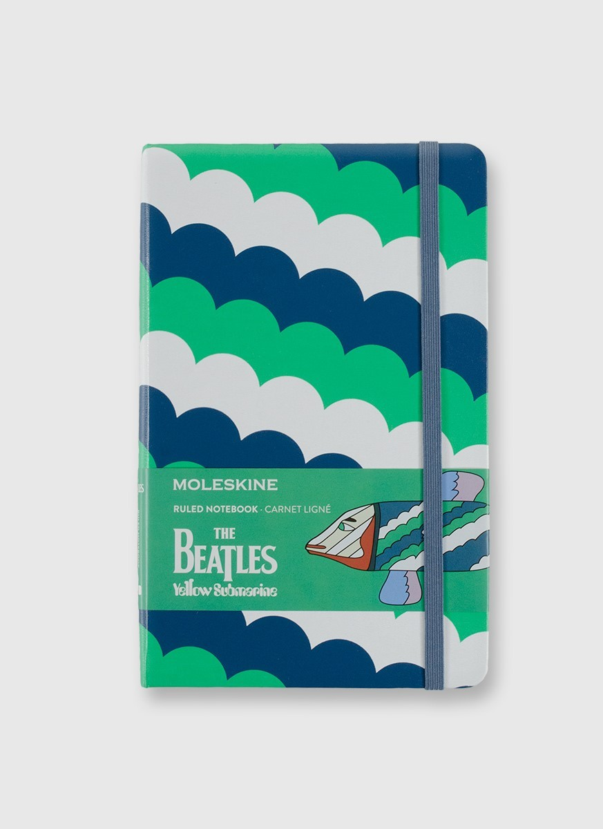 Moleskine The Beatles White Fish