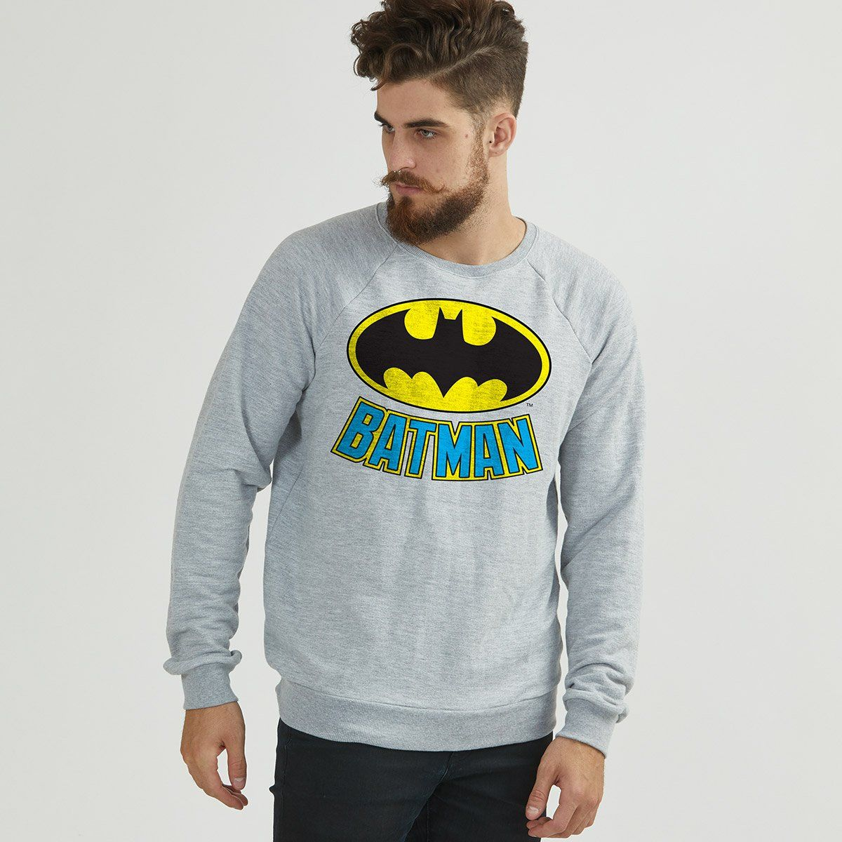 Moletinho Batman Logo Clássico Color