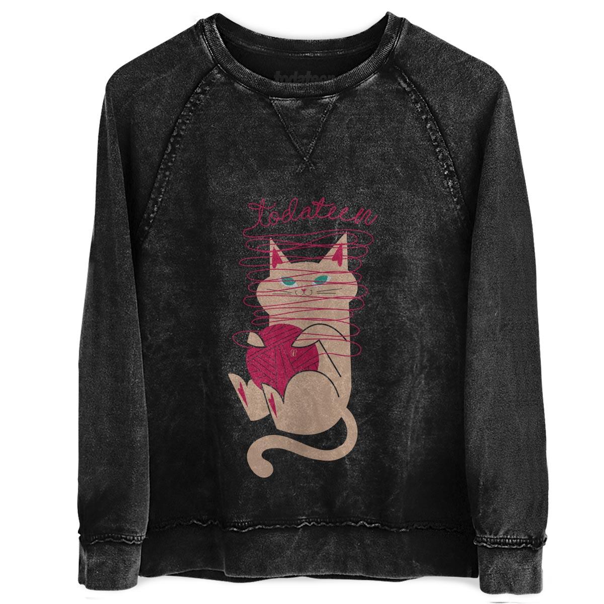 Moletinho Marmorizado TodaTeen Cat