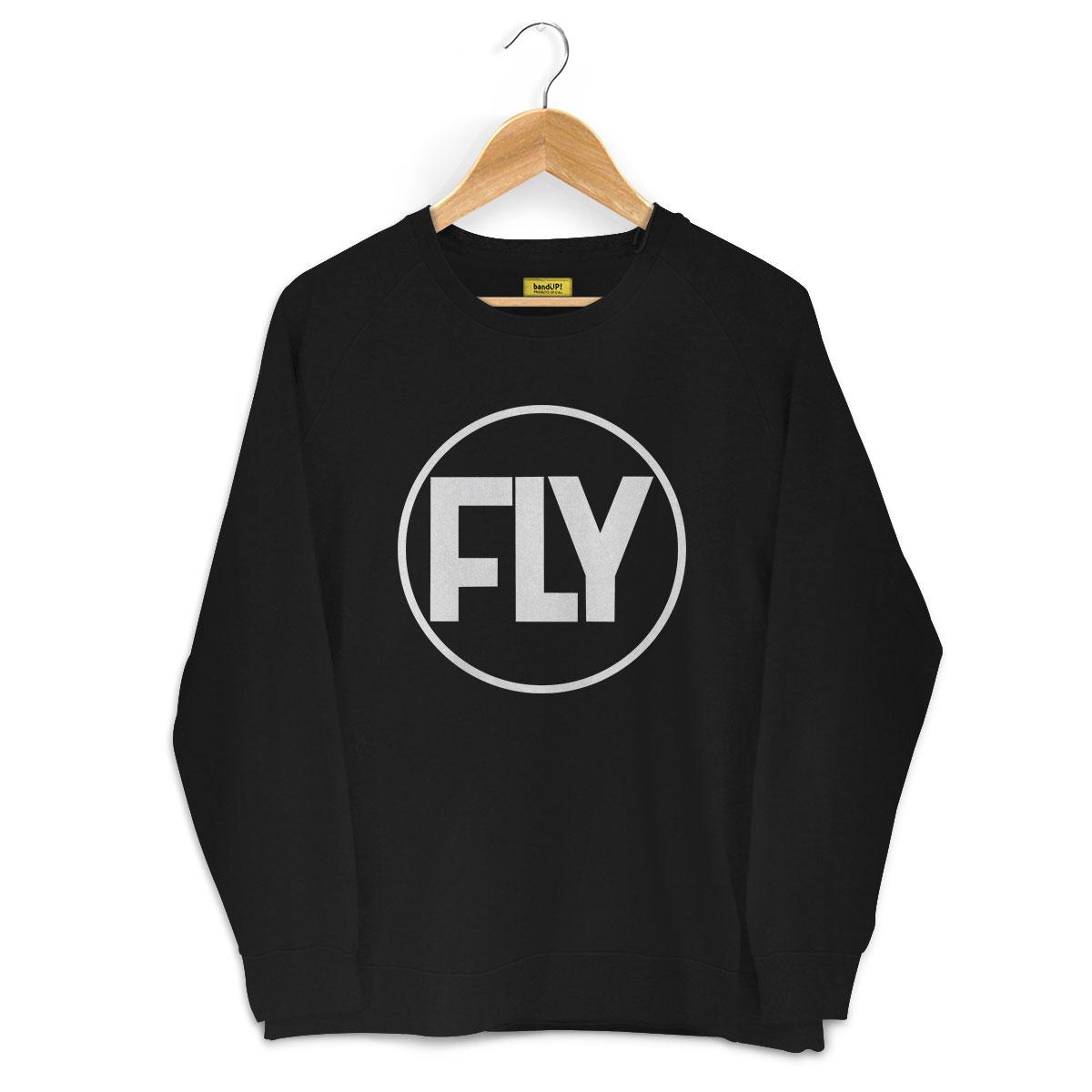 Moletinho Preto Banda Fly Logo