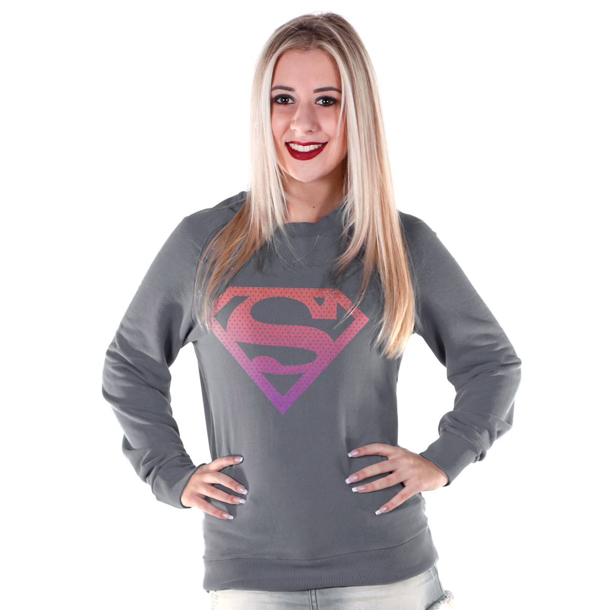 Moletinho SuperGirl Fashion
