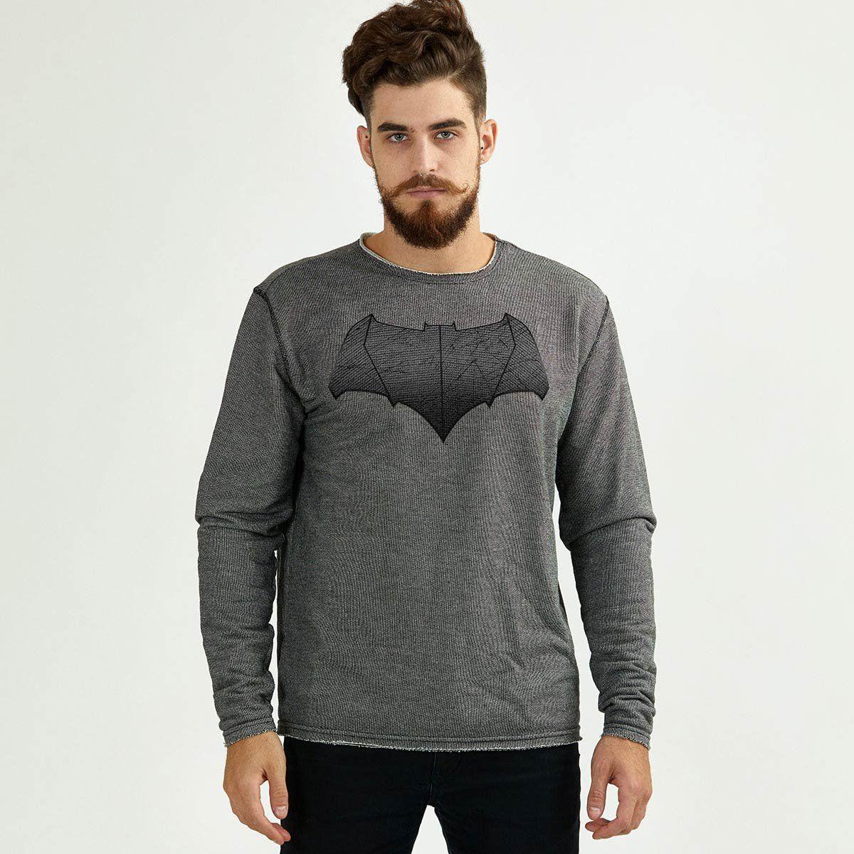 Moletinho Texturizado Batman Shield