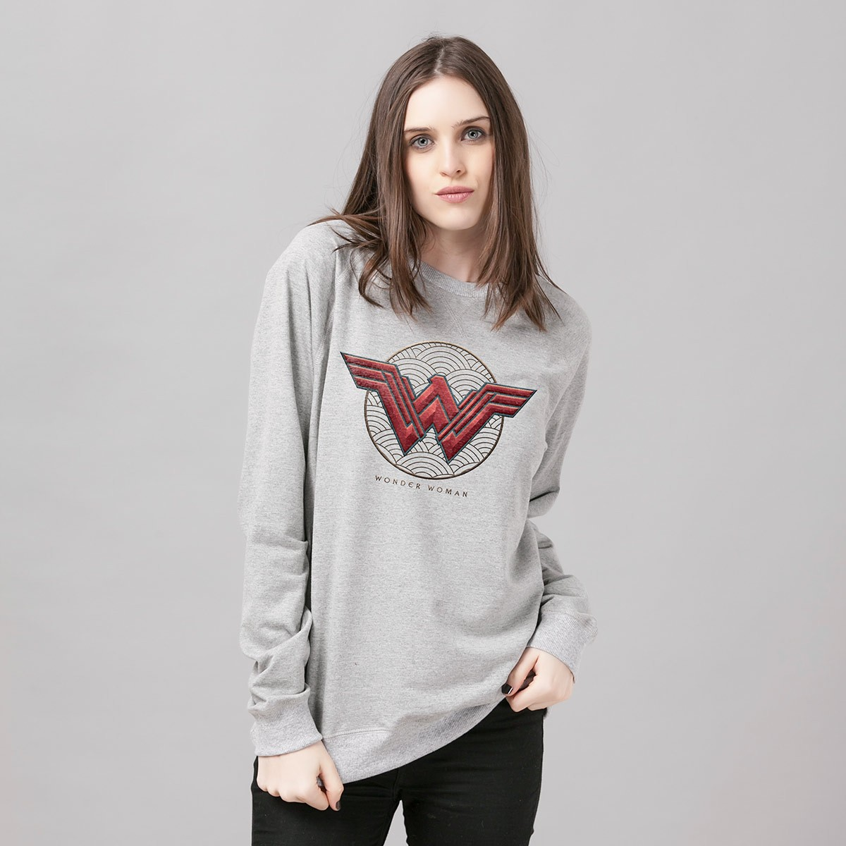 Moletinho Wonder Woman Logo Authentic
