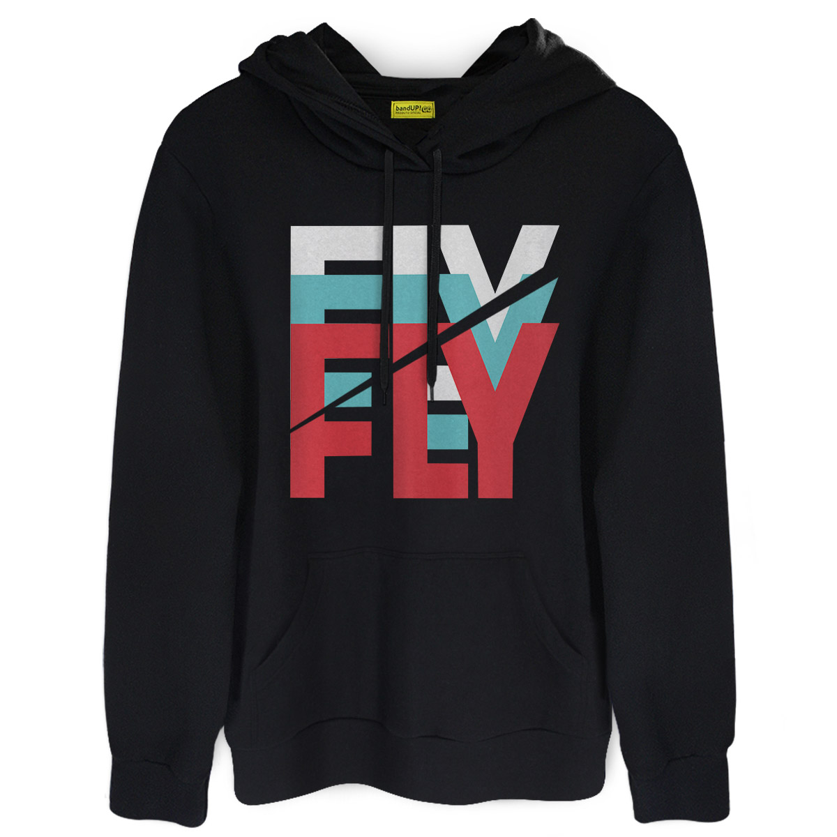 Moletom Banda Fly Logo Colors