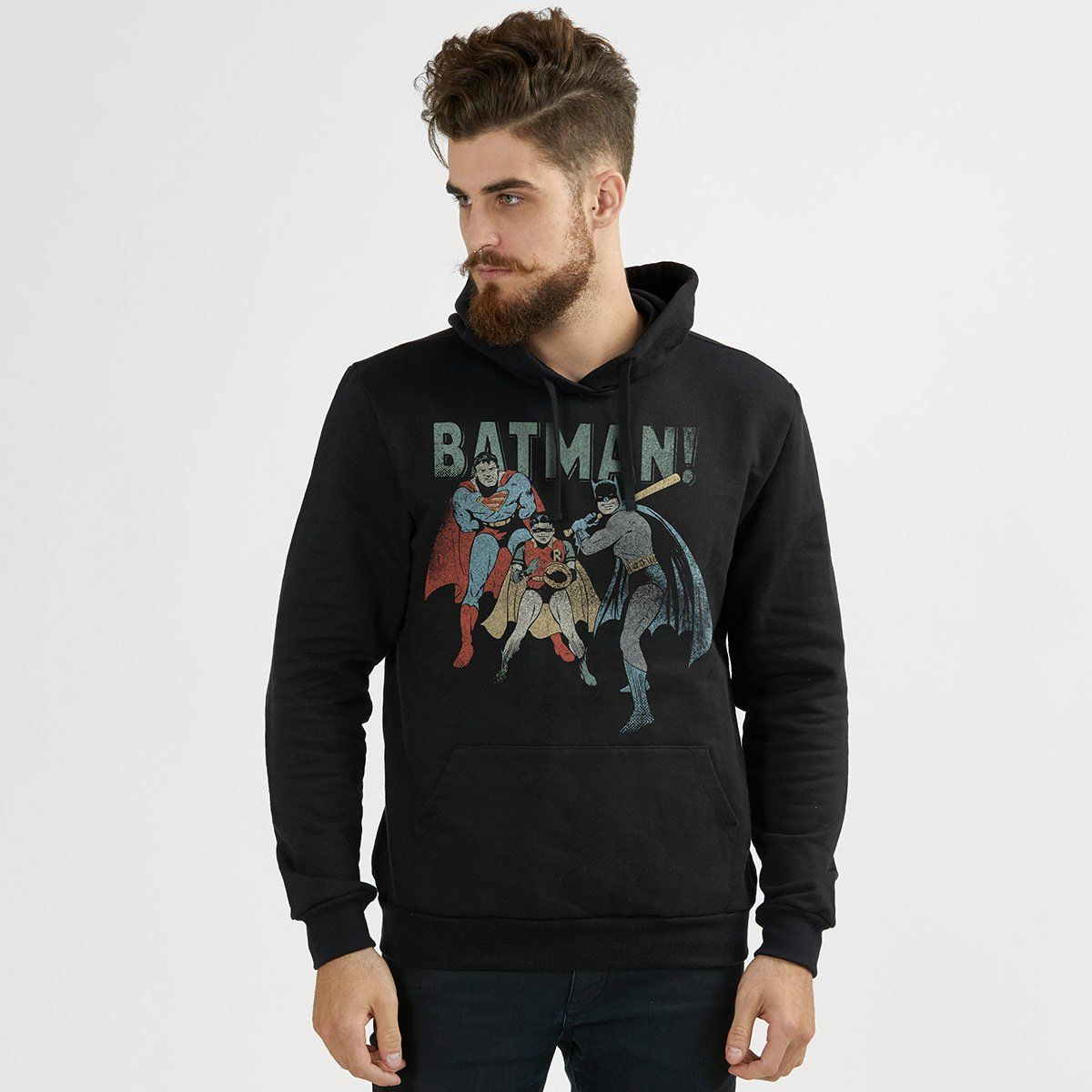 Moletom Batman Baseball