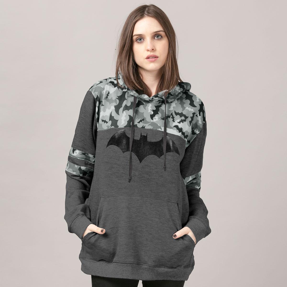 Moletom Camuflado Batman Bats