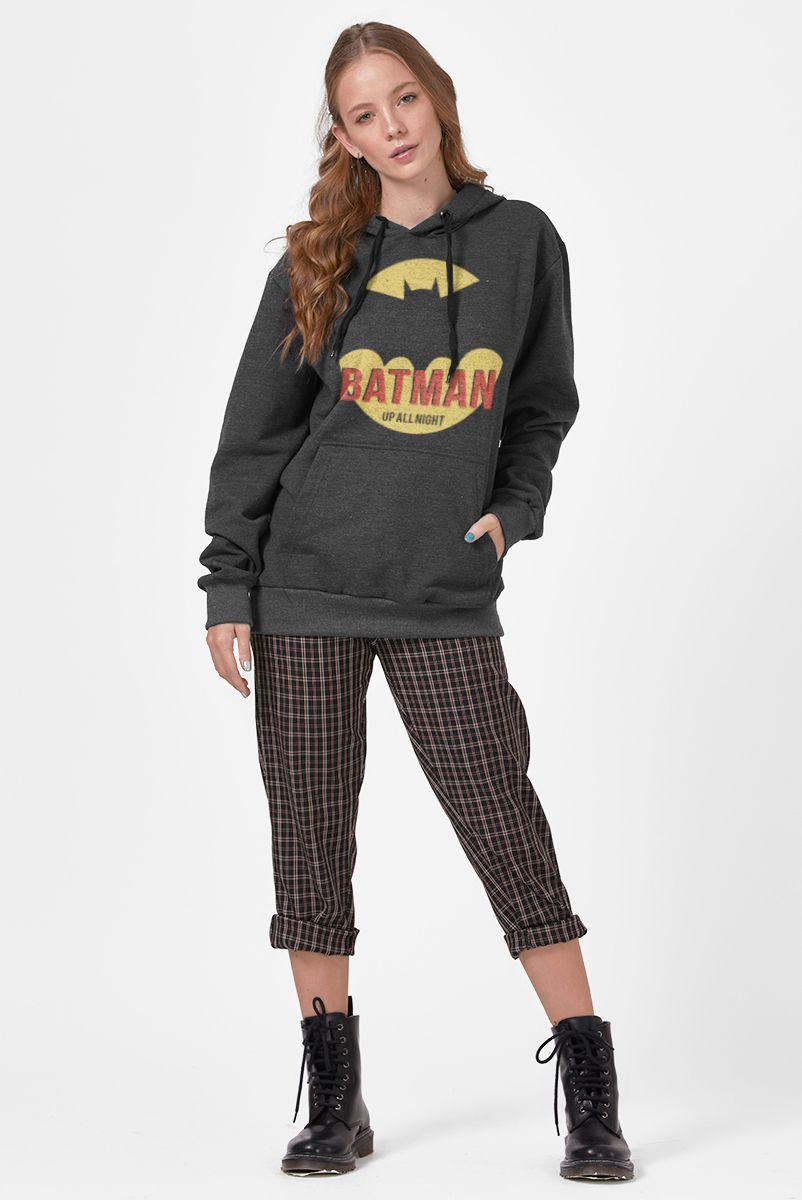 Moletom Feminino Batman Up All Night