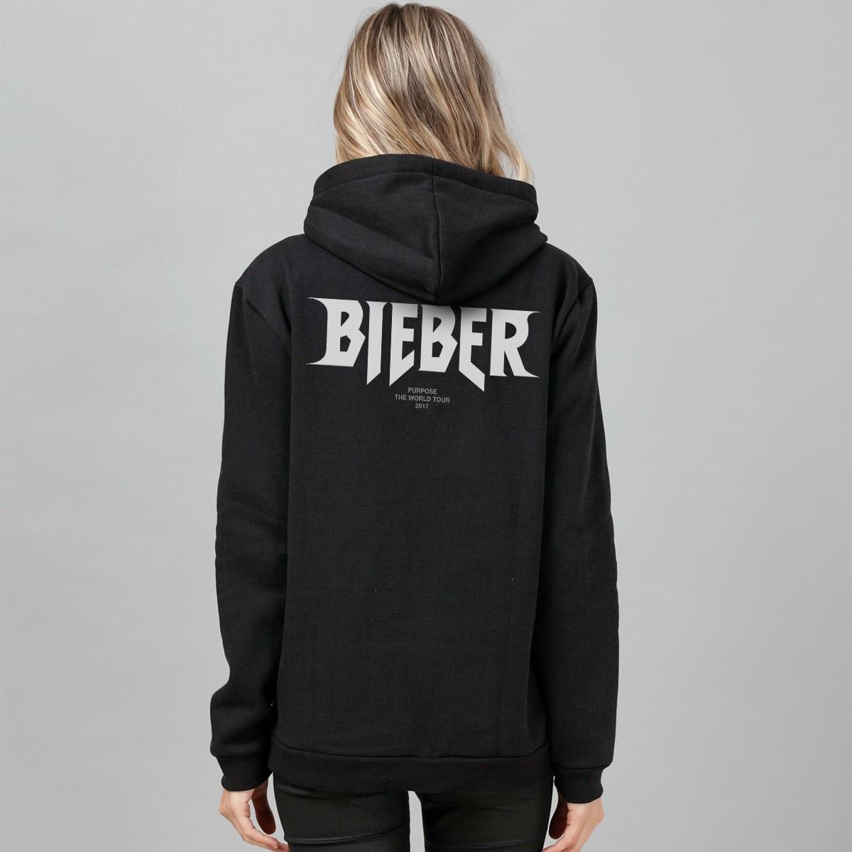 Moletom Justin Bieber Purpose Tour Staff