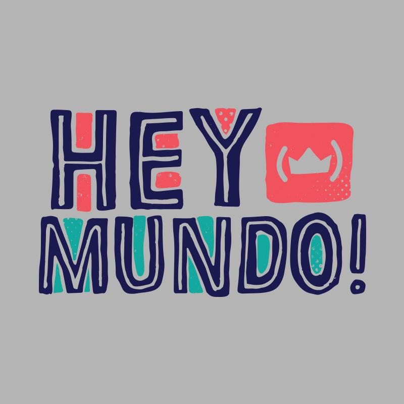 Moletom Raglan Thiaguinho Hey Mundo! Logo