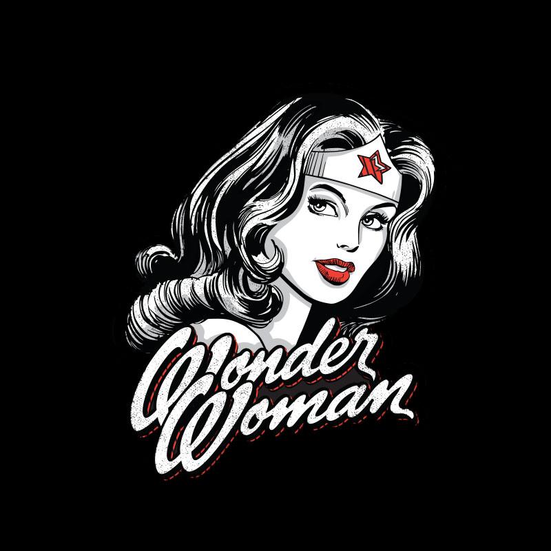 Moletom Wonder Woman Fashion