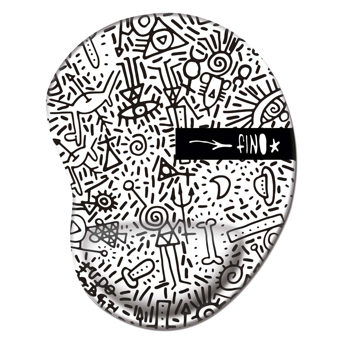 Mousepad Fino Farofa de Religião