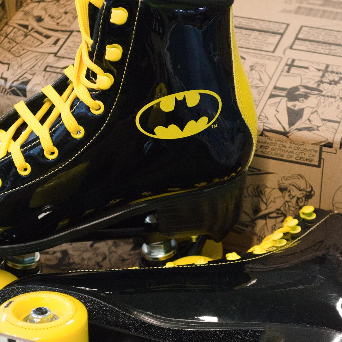 Patins Batman Logo