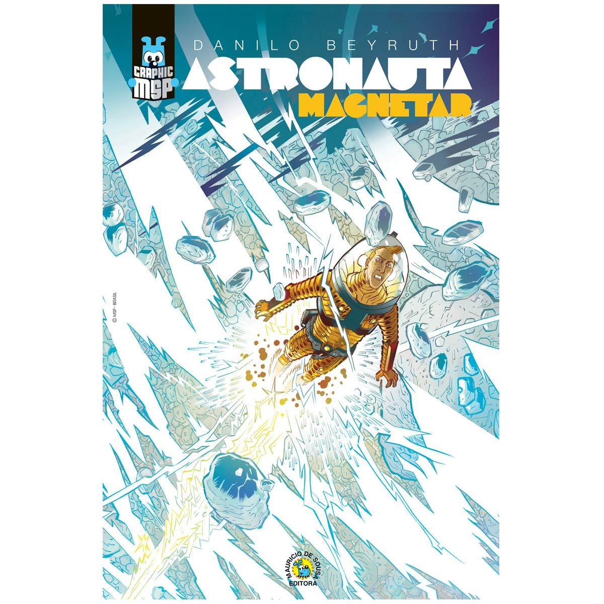 Poster Turma da Mônica Toy Astronauta Magnetar