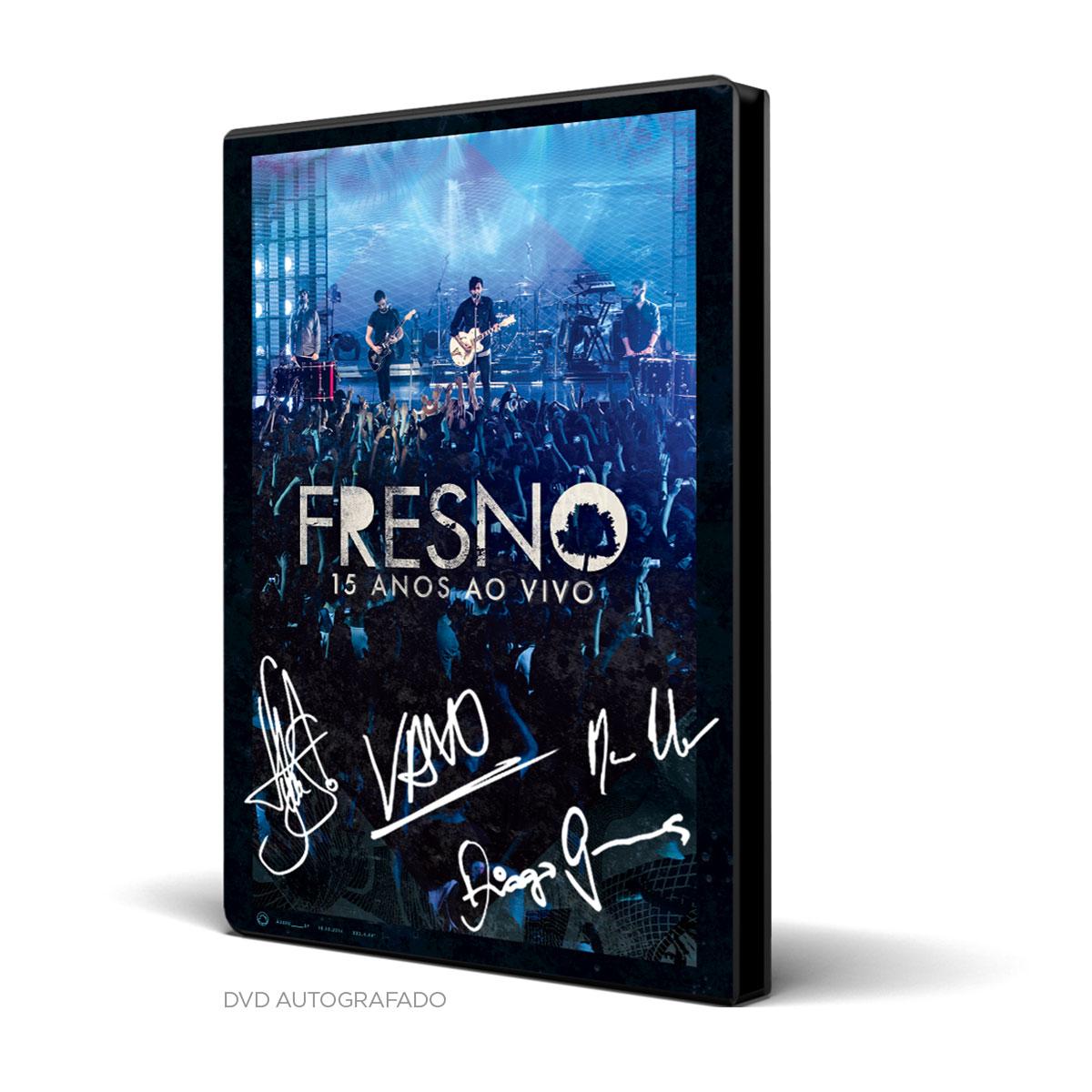 Combo Premium DVD Fresno 15 Anos ao Vivo + Regata