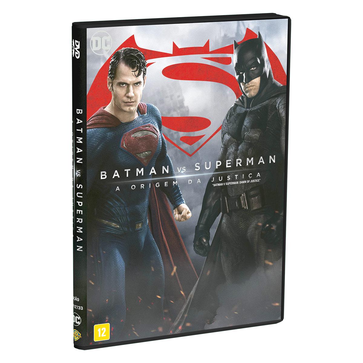 DVD Batman VS Superman A Origem da Justiça