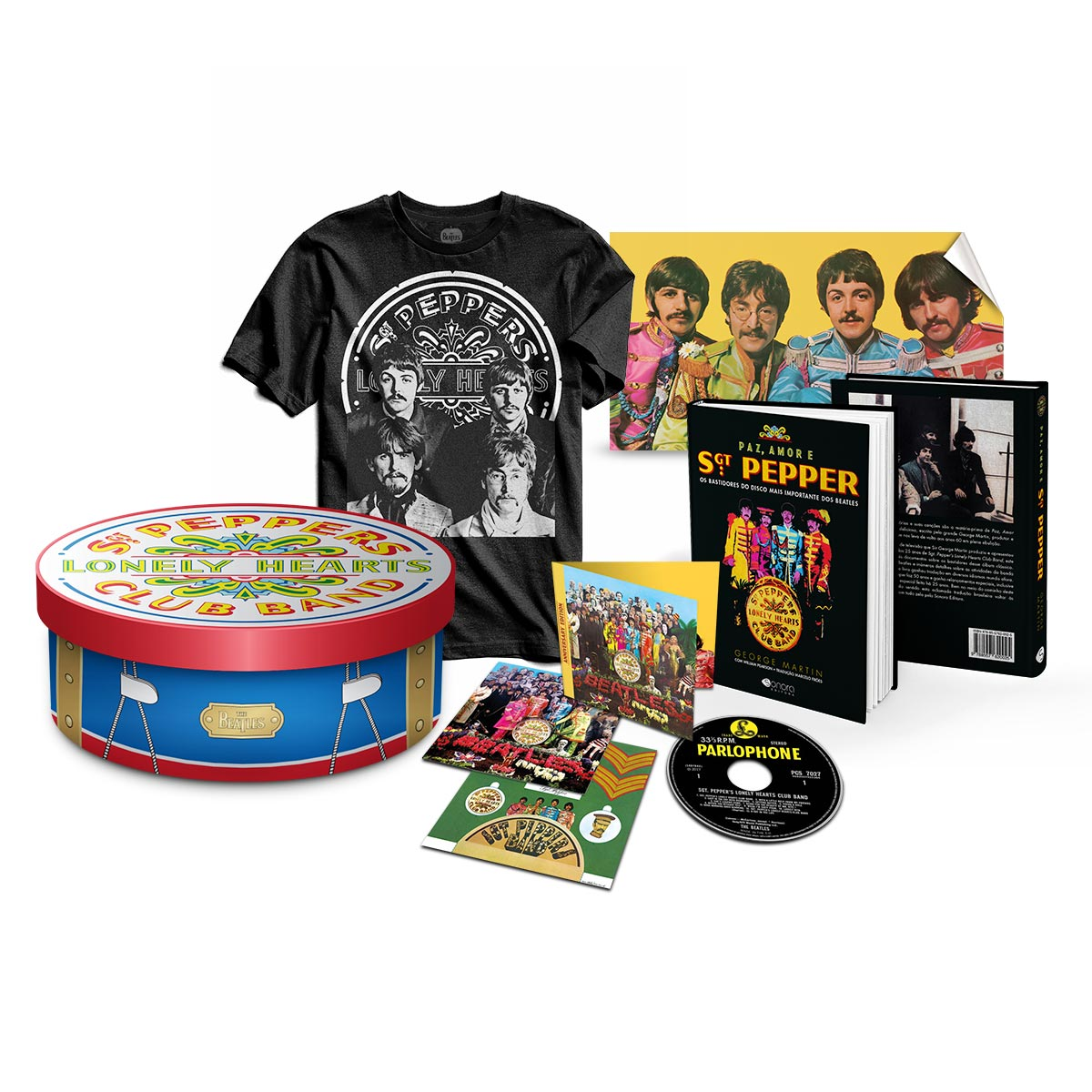 Gift Box The Beatles Sgt Peppers 50 Anos - Edição Deluxe
