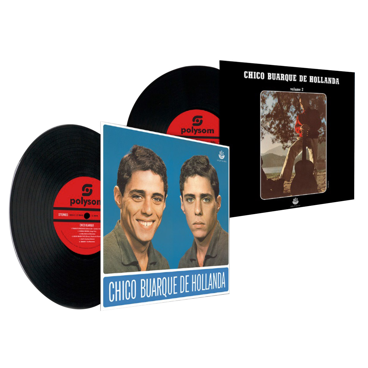 LP Box Chico Buarque de Hollanda Os Primeiros Anos