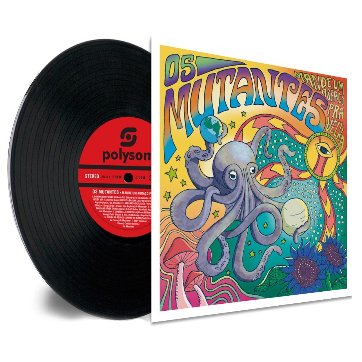 LP Os Mutantes Mande Um Abraço Pra Velha