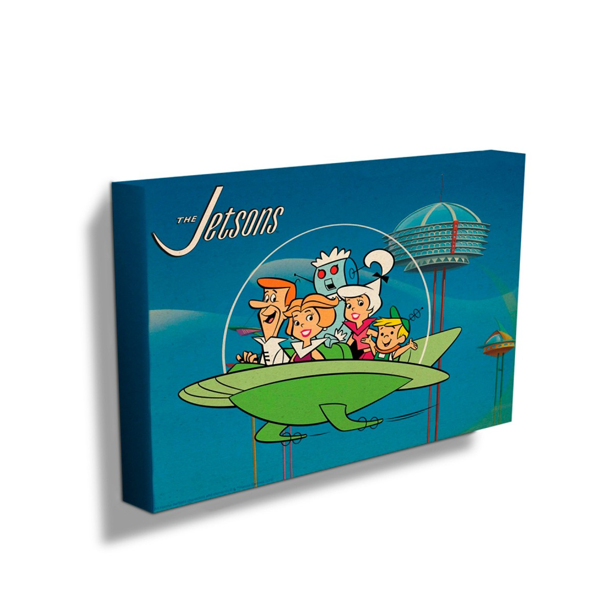 Quadro Os Jetsons Family In Spaceship