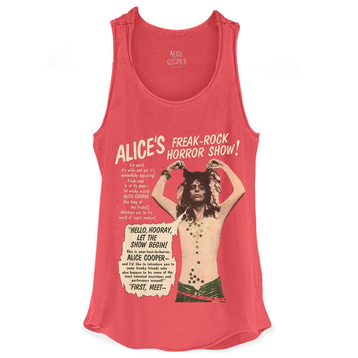 Regata Premium Feminina Alice Cooper Freak Rock