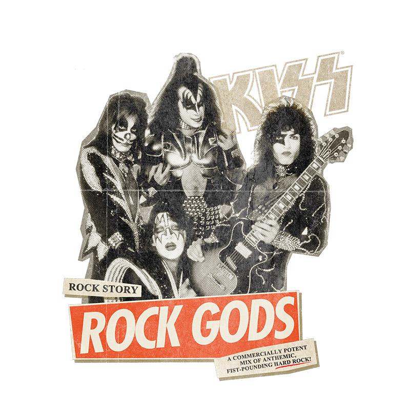 Regata Premium Feminina Kiss Rock Story White