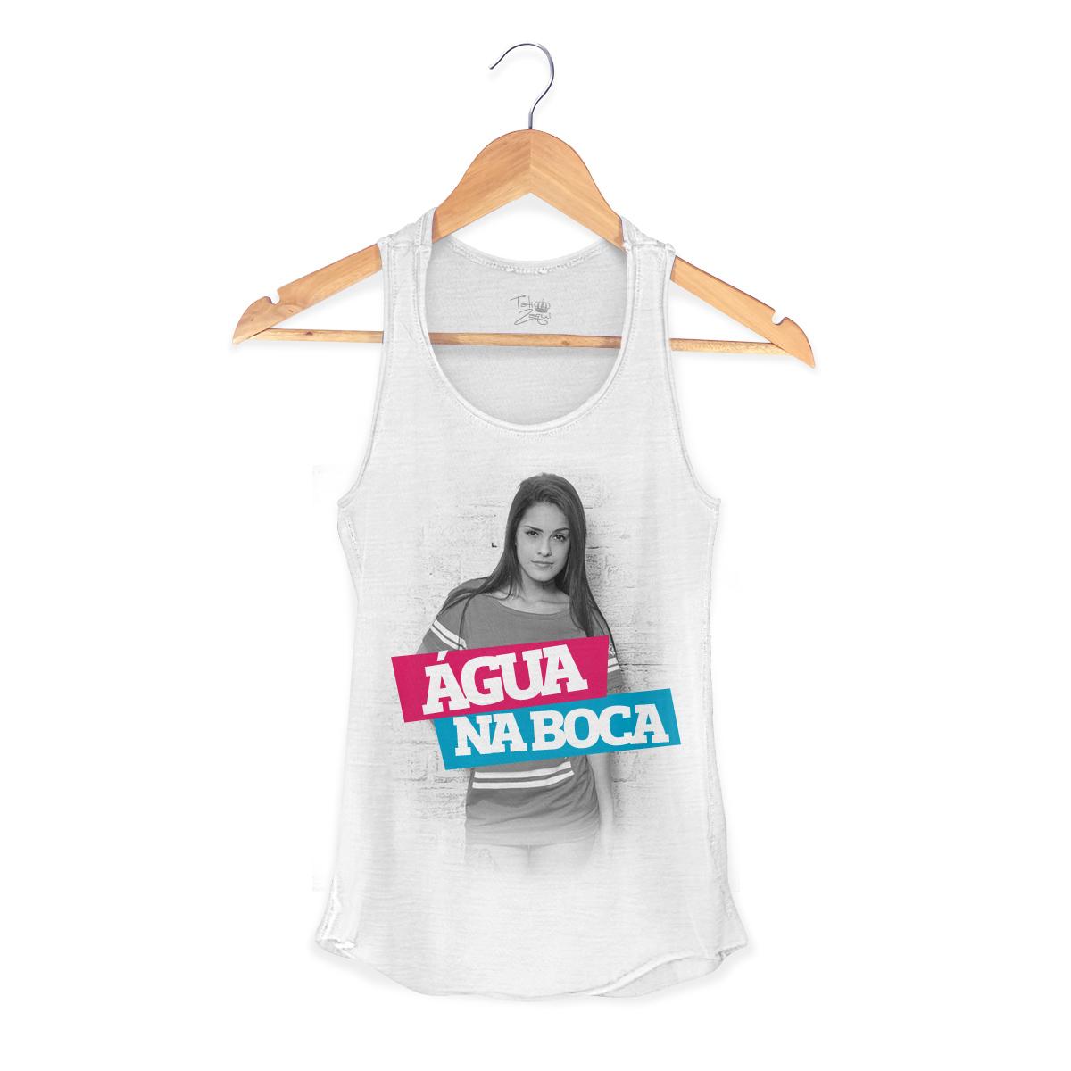 Regata Premium Feminina MC Tati Zaqui Água na Boca