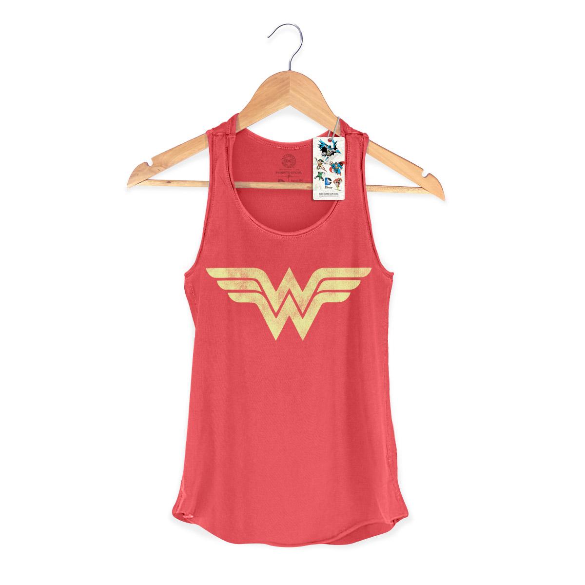 Regata Premium Feminina Wonder Woman