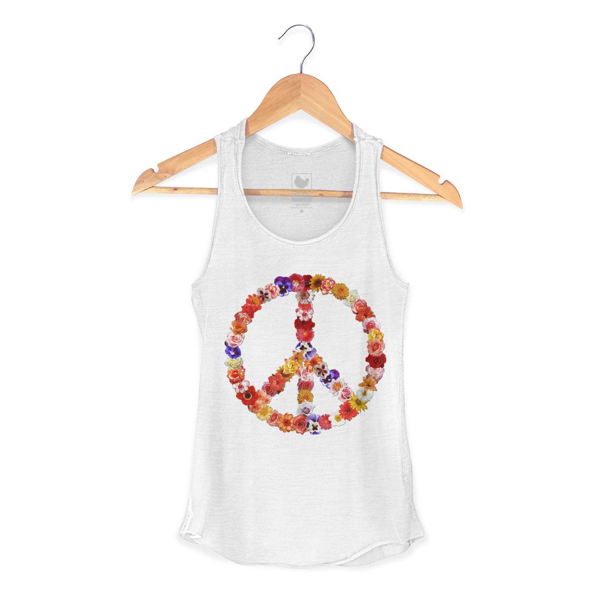 Regata Premium Feminina Woodstock Flower Power