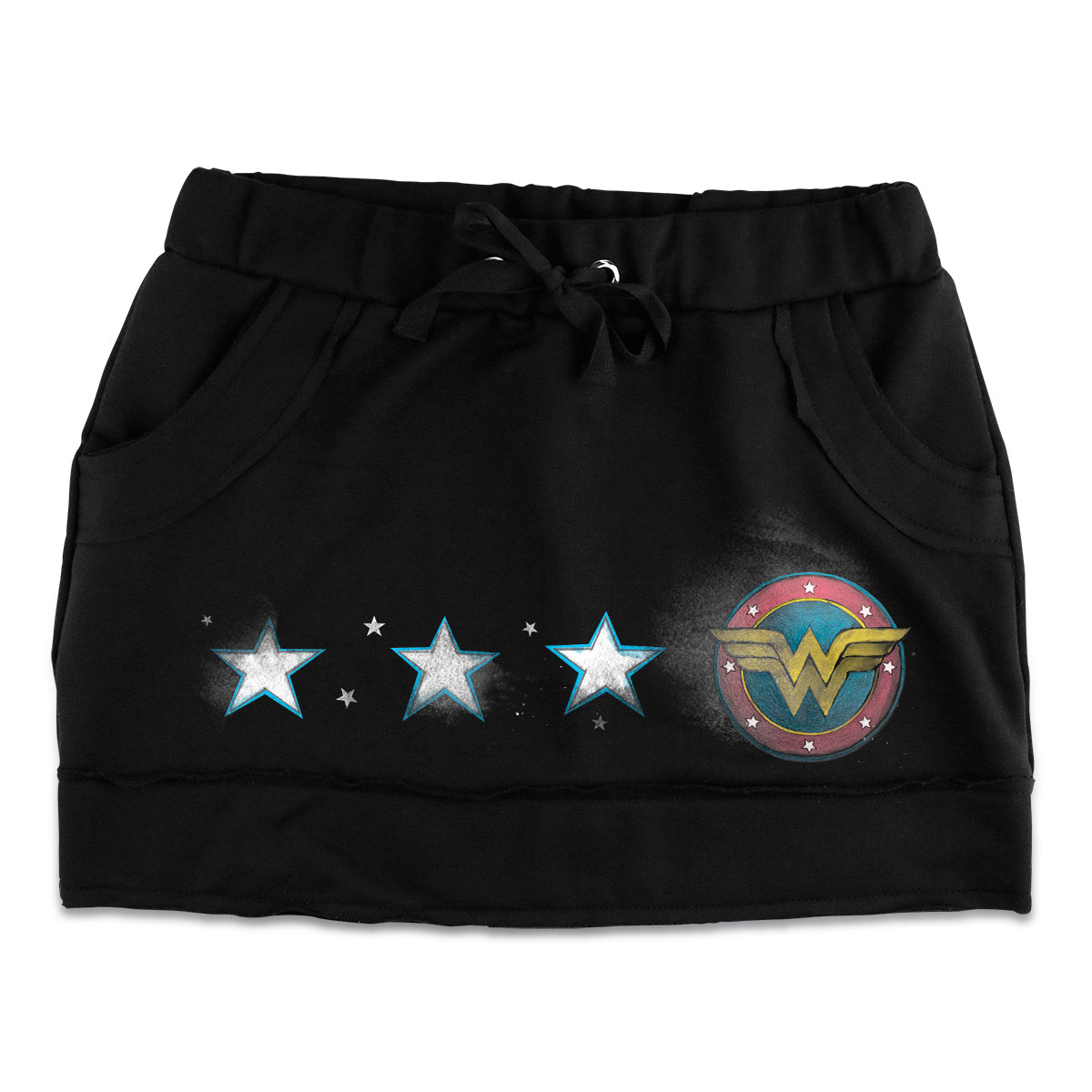 Saia de Moletom Wonder Woman Logo