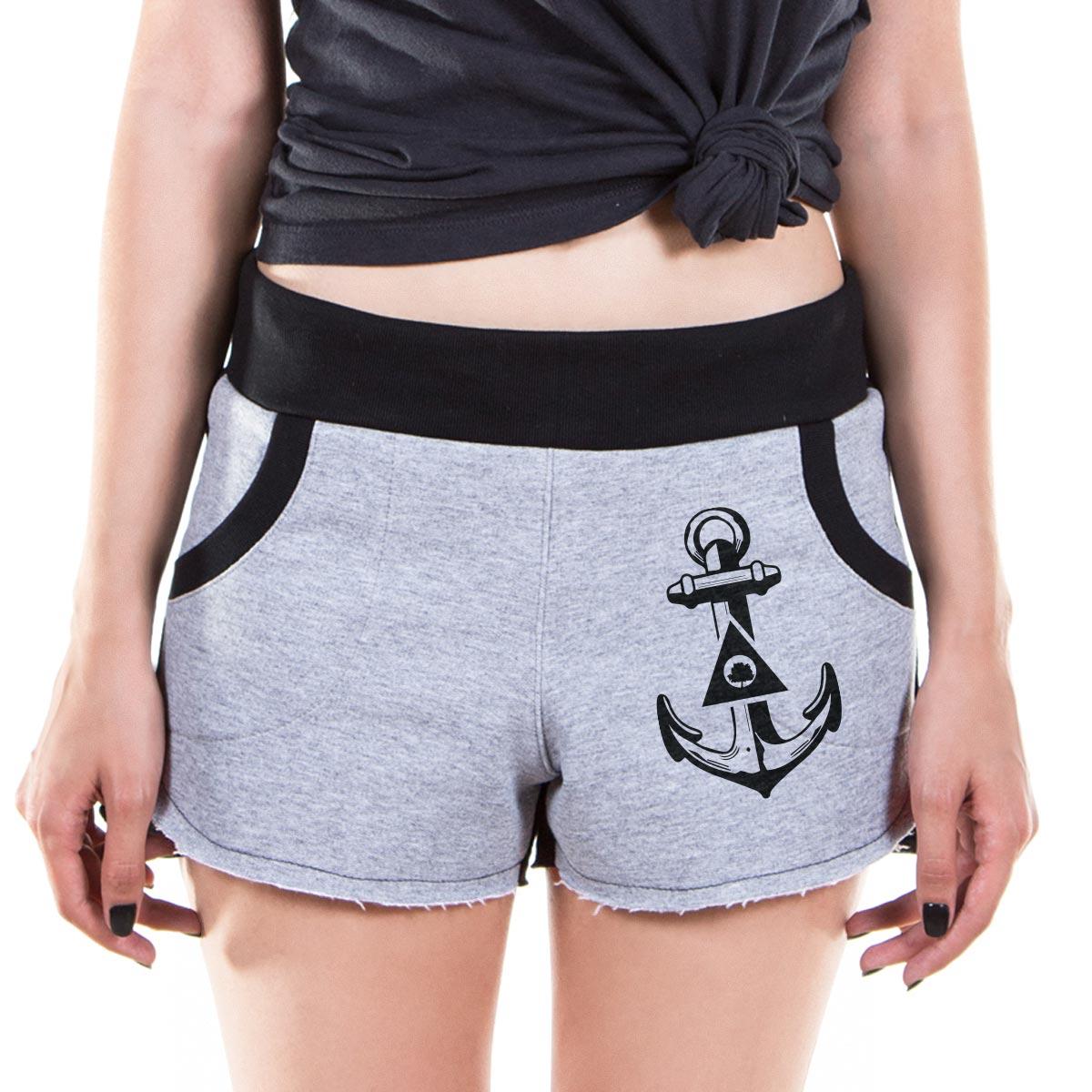 Shorts de Moletom Fresno Anchor Logo