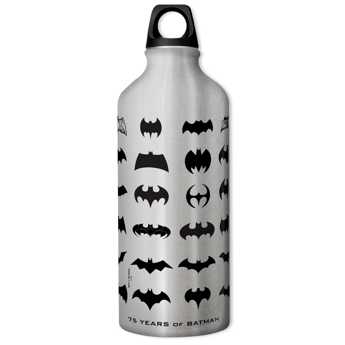 Squeeze Prata Batman 75 Anos Logos Collection