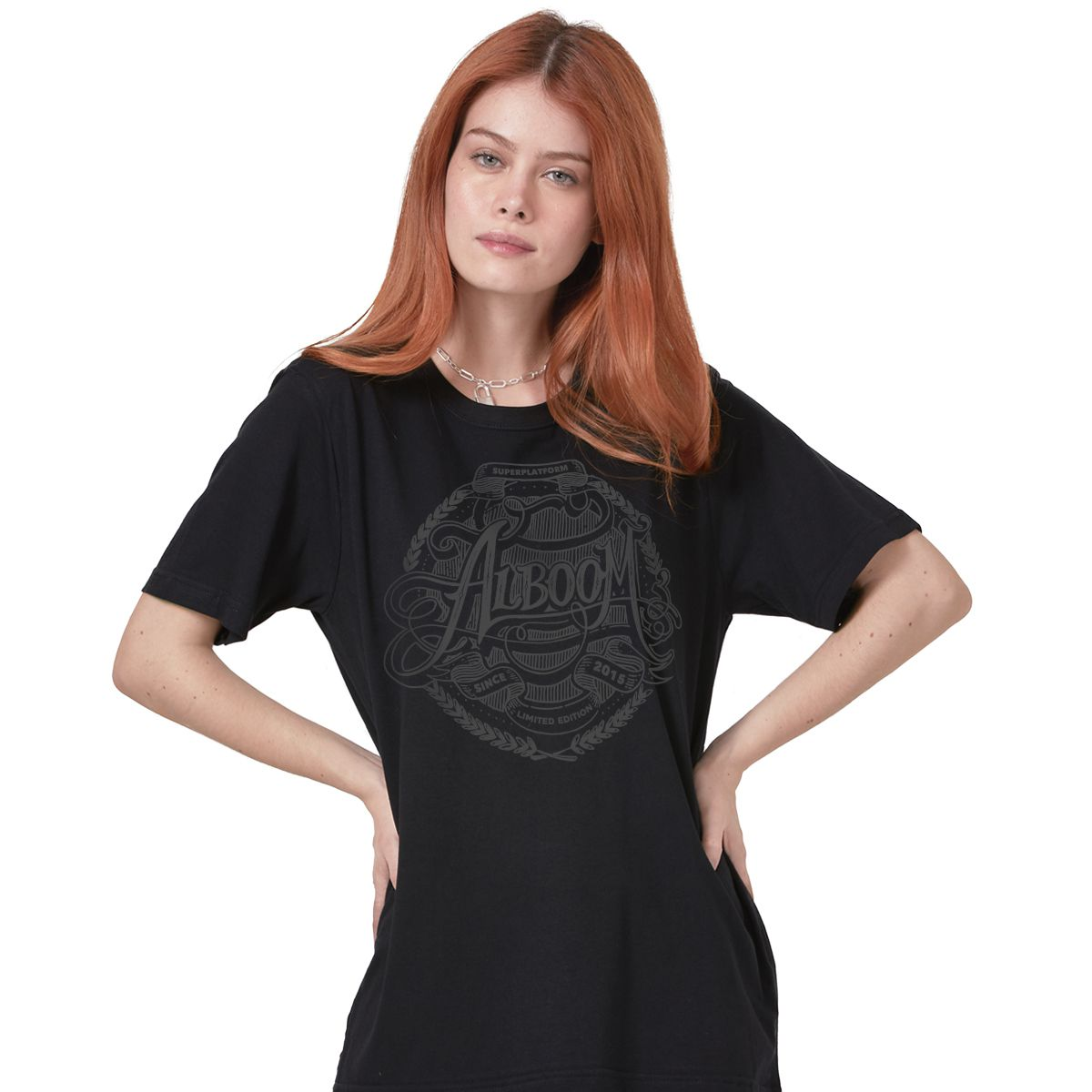 T-shirt Feminina Alboom